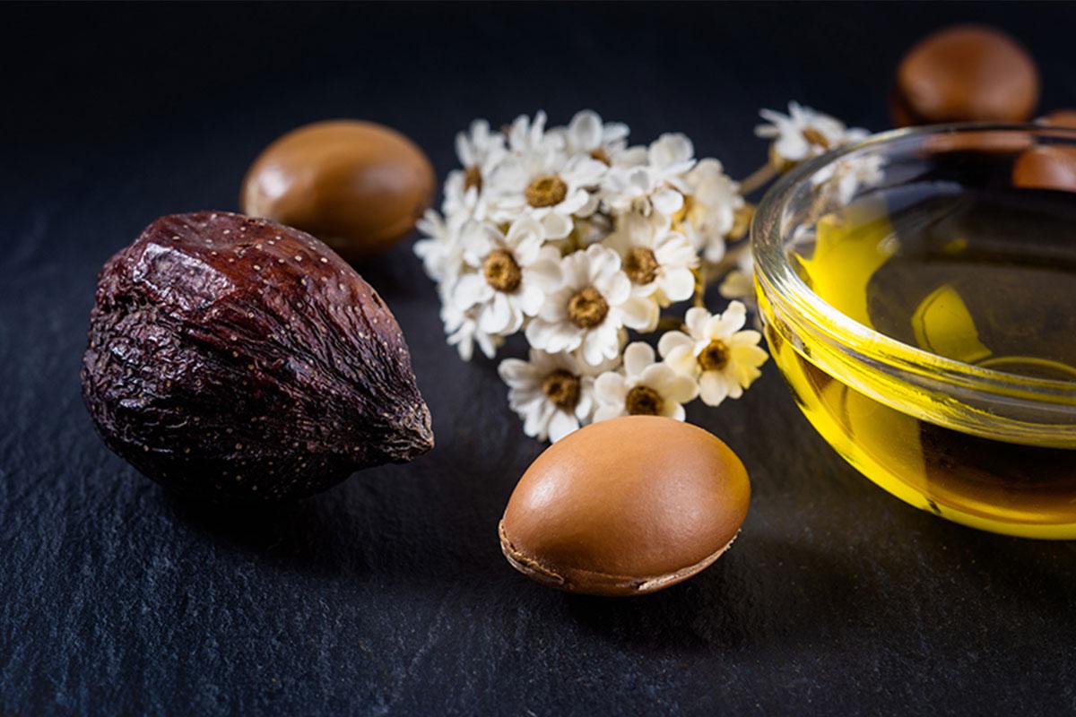 L'huile d'Argan est un des éléments naturel et vegan de la formule exclusive d'amatera