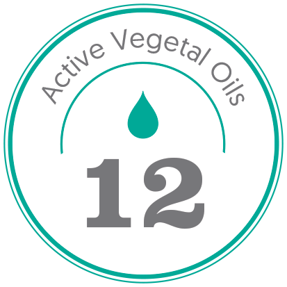 La formule amatera aux 12 huiles végétales actives