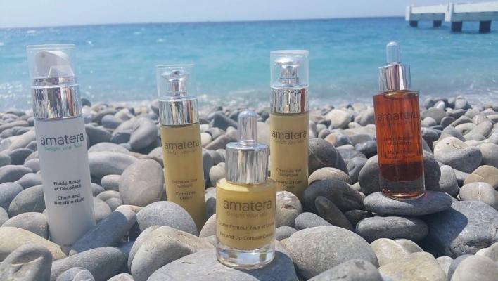 la nature offre le meilleur - les effets des antioxydants sur la peau sont concentrés dans les soins Amatrera