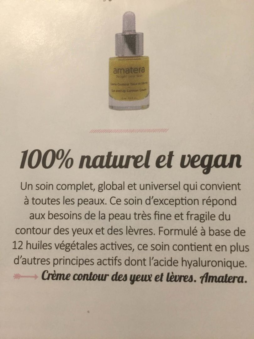 amatera, 100% naturel et vegan