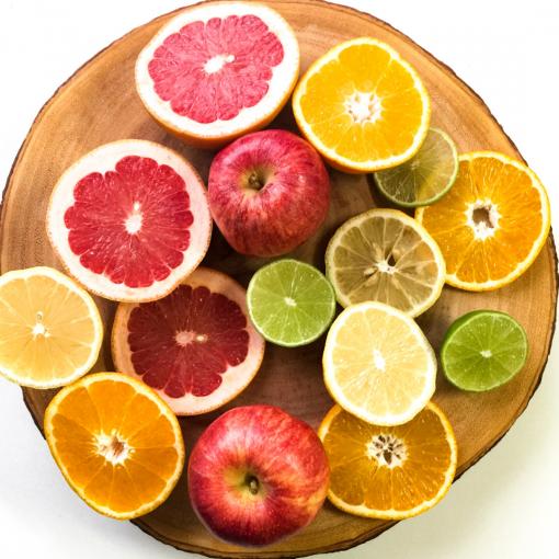 amatera est ses odeurs d'agrumes - pamplemousse - orange - citron - lime - set voyage découverte