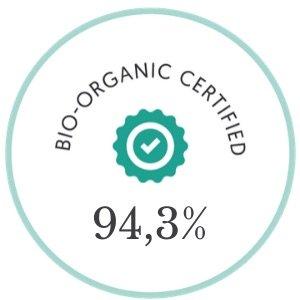 Mon Elixir 94,3% d'ingrédients bio